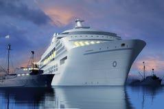 De scène van de haven Royalty-vrije Stock Foto