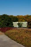 De Scène van de herfst Stock Fotografie