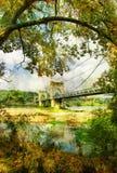 De scène van de herfst Royalty-vrije Stock Afbeeldingen