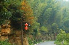 De Scène van de herfst in Zuidelijk China Royalty-vrije Stock Afbeeldingen