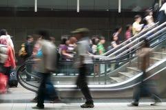 De scène van de metro Stock Afbeelding