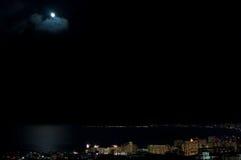 De scène van de nacht Royalty-vrije Stock Afbeelding