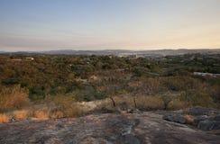 De scène van de Nelspruitstad, Mpumalanga, Zuid-Afrika royalty-vrije stock afbeelding