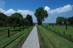 De scène van de Nishattuin in Srinagar-2 Stock Foto