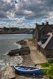 De scène van de rivier bij berwick-op-Tweed royalty-vrije stock afbeelding
