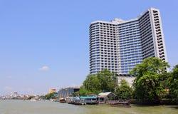 De Scène van de Rivieroever van Bangkok Royalty-vrije Stock Afbeelding
