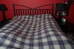 De Scène van de slaapkamer royalty-vrije stock foto