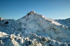 De Scène van de sneeuw Royalty-vrije Stock Foto