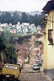 De scène van de straat, Guatemala stock afbeelding