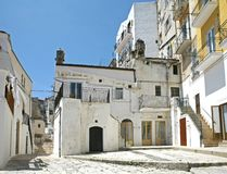 De scène van de straat in Italië stock afbeelding