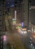 De Scène van de Straat van de avond Stock Fotografie