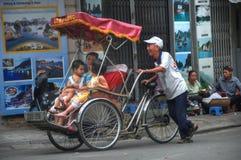 De Scène van de Straat van Hanoi Royalty-vrije Stock Fotografie