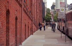 De Scène van de Straat van San Francisco stock fotografie