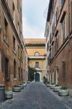 De scène van de straat van Trastevere Royalty-vrije Stock Foto's