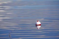 De scène van de visserij bobber Stock Afbeeldingen