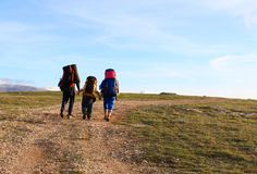 De scène van de wandeling Royalty-vrije Stock Foto
