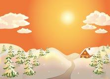 De scène van de winter Royalty-vrije Stock Foto