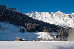 De Scène van de winter royalty-vrije stock fotografie
