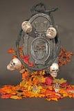 De scène van Halloween. Stock Afbeelding