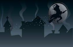 De scène van Halloween Royalty-vrije Stock Foto's