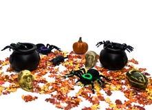 De Scène van Halloween Stock Foto's