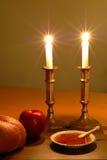 De Scène van Hashanah van Rosh Stock Foto's