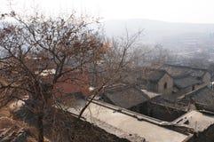 De scène van het dorp Royalty-vrije Stock Afbeelding