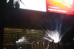 De scène van het filmfestival Stock Afbeelding