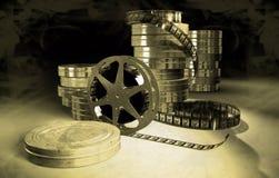 De scène van het Filmmakingsconcept Stock Foto's