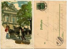 De scène van het genre in Berlijn Royalty-vrije Stock Foto
