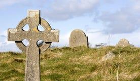 De scène van het kerkhof Stock Afbeeldingen