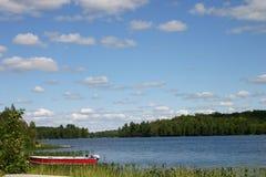 De scène van het meer Stock Foto