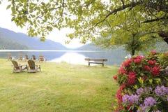 De scène van het meer Royalty-vrije Stock Afbeeldingen