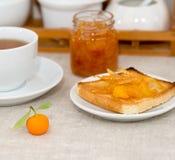 De scène van het ontbijt Royalty-vrije Stock Foto's