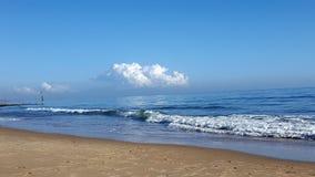 De scène van het strand Stock Foto