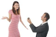 De scène van het voorstel stock fotografie