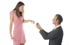 De scène van het voorstel Royalty-vrije Stock Foto