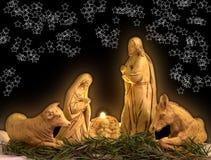 De scène van Kerstmis Royalty-vrije Stock Fotografie