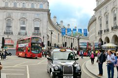 De Scène van Londen Stock Foto