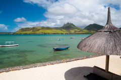 De scène van Mauritius stock fotografie