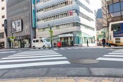 De scène van Shibuyatokyo Japan op 30,2017 Maart | De reiscityscape van Azië | Beroemde metropolitaans Stock Afbeeldingen