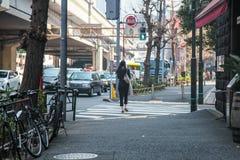 De scène van Shibuyatokyo Japan op 30,2017 Maart | De reiscityscape van Azië | Beroemde metropolitaans Royalty-vrije Stock Afbeeldingen