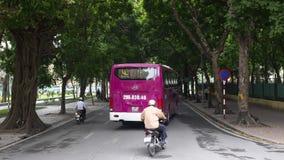De scène van straat in Hanoi Vietnam 2015 Royalty-vrije Stock Afbeelding