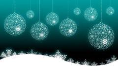 De scèneachtergrond van Kerstmis Stock Foto