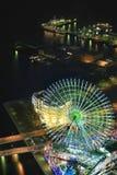 De scènes van de het waarnemingscentrumnacht van het oriëntatiepunt Stock Afbeelding
