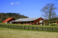 De Scènes van het Landbouwbedrijf van Tennessee royalty-vrije stock afbeeldingen