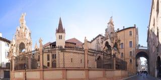 De Scaliger-Graven, Verona royalty-vrije stock afbeeldingen