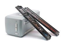 De scanner van de film Royalty-vrije Stock Afbeeldingen