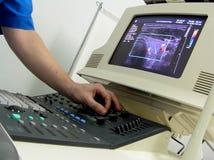 De scanner van de ultrasone klank royalty-vrije stock fotografie
