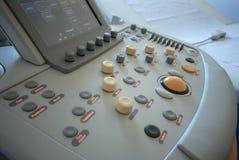 De scanner van de ultrasone klank Stock Afbeeldingen